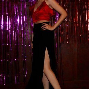Flynn Skye Skirts - NWOT. High waisted skirt with side slit